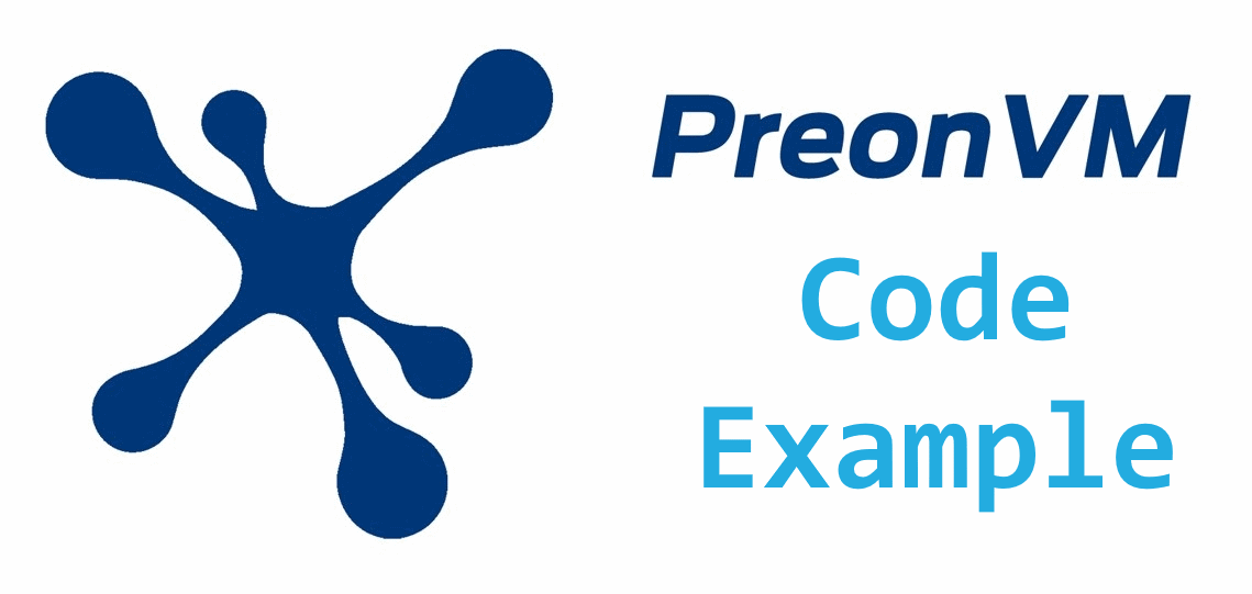preonvm code example