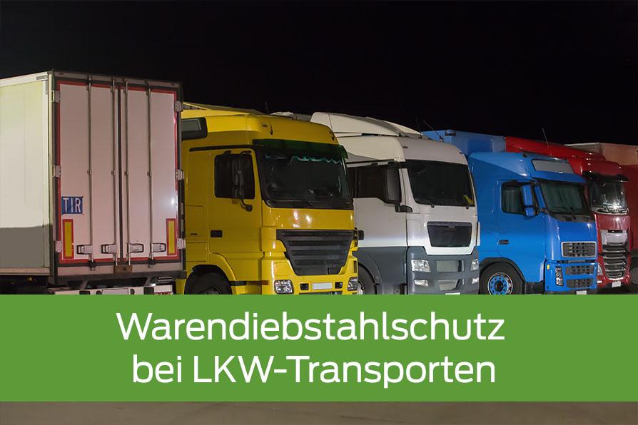 Warendiebstahlschutz bei LKW-Transporten