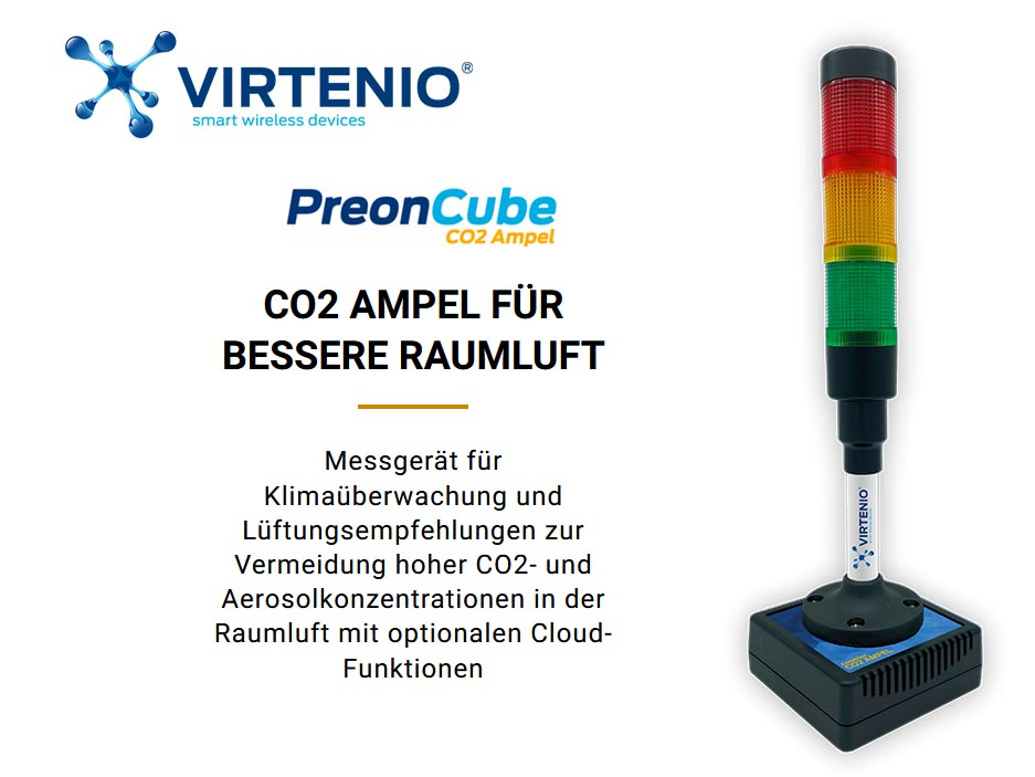 VIRTENIO PreonCube CO2 Ampel
